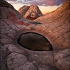 "<font color=""#FFFFFF"" size=""4"" face=""Verdana, Arial, Helvetica, sans-serif"">Dragon's Eye</font><br> Vermillion Cliffs, Arizona"