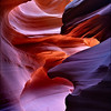 "<font color=""#FFFFFF"" size=""4"" face=""Verdana, Arial, Helvetica, sans-serif"">Reflected Canyon Light</font><br> Antelope Canyon, Arizona"