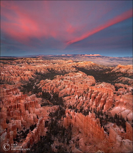 "<font color=""#FFFFFF"" size=""4"" face=""Verdana, Arial, Helvetica, sans-serif"">Bryce Canyon Sunset</font><br> Bryce Canyon, Utah"