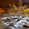 "<font color=""#FFFFFF"" size=""4"" face=""Verdana, Arial, Helvetica, sans-serif"">Virgin River Falls</font><br> Zion NP, Utah"