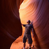"<font color=""#FFFFFF"" size=""4"" face=""Verdana, Arial, Helvetica, sans-serif"">Me in Antelope Canyon</font><br> Antelope Canyon, Arizona"