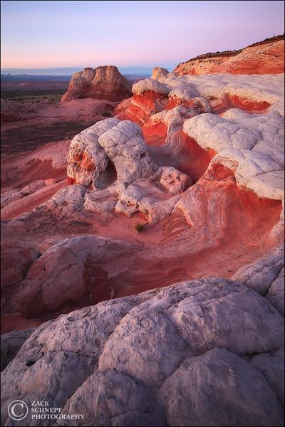 """<font color=""""#FFFFFF"""" size=""""4"""" face=""""Verdana, Arial, Helvetica, sans-serif"""">White Pocket</font><br> Vermillion Cliffs, Arizona"""