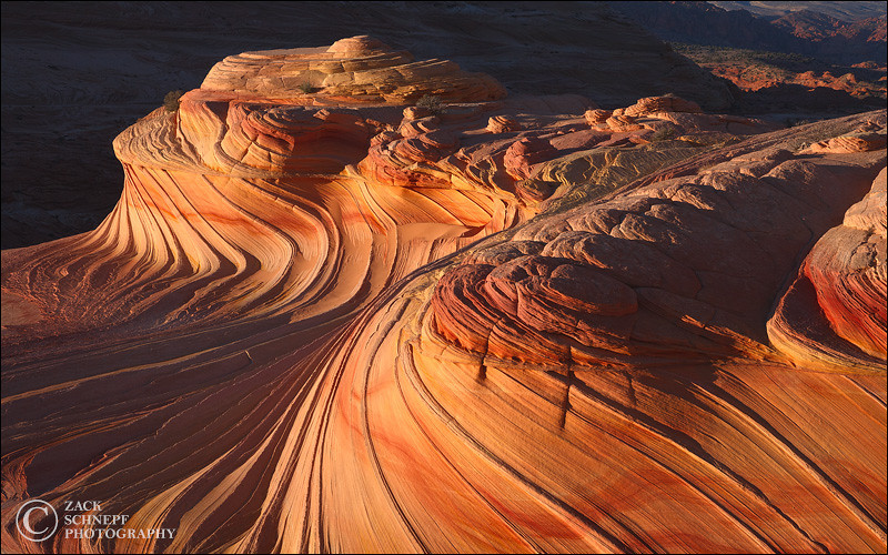 """<font color=""""#FFFFFF"""" size=""""4"""" face=""""Verdana, Arial, Helvetica, sans-serif"""">Second Wave Pano</font><br> Coyote Butte, Arizona"""