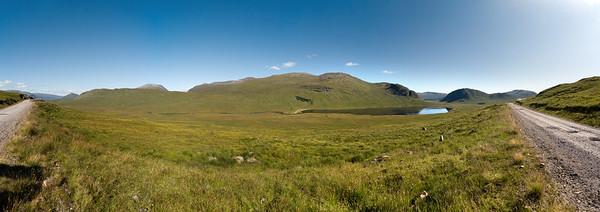 26.07.2011, Schottland, U.K., Das Loch Ghuilbinn in der Naehe von Corrour Station