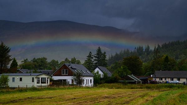 Rainbow in Glancoe