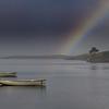 Rain on Loch Fada