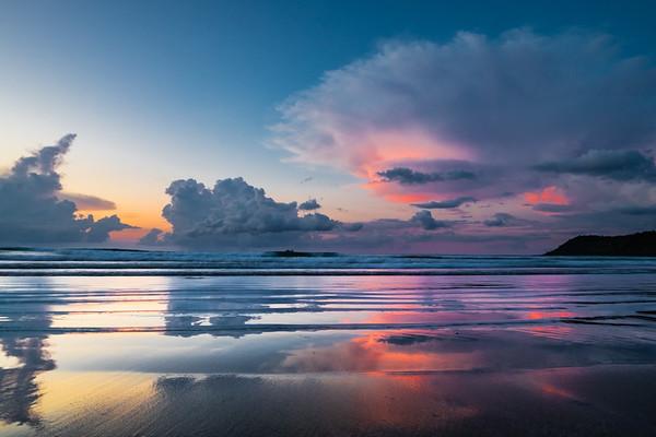 Maia Beach Sunset