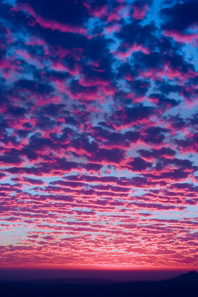 Colorful Sunset - vertical