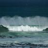 wind and wave, Wind und Wellen, Tang im Wasser, Gaansbai, Western Cape, Südafrika