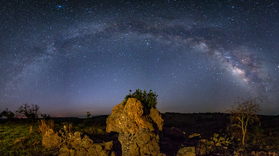 Milky Way Over Llano, Tx