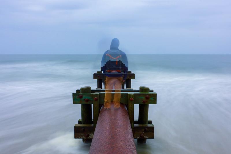Ocean City, NJ 2016  Single shot with a Hoya ND8 filter.