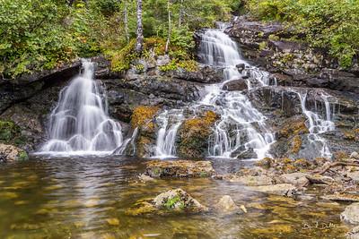 Sawmill Bay Waterfall