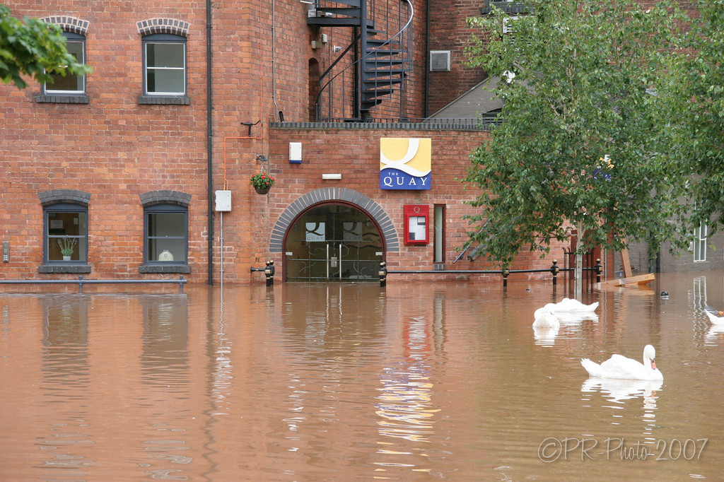 Worcester Summer floods 21st July 2007