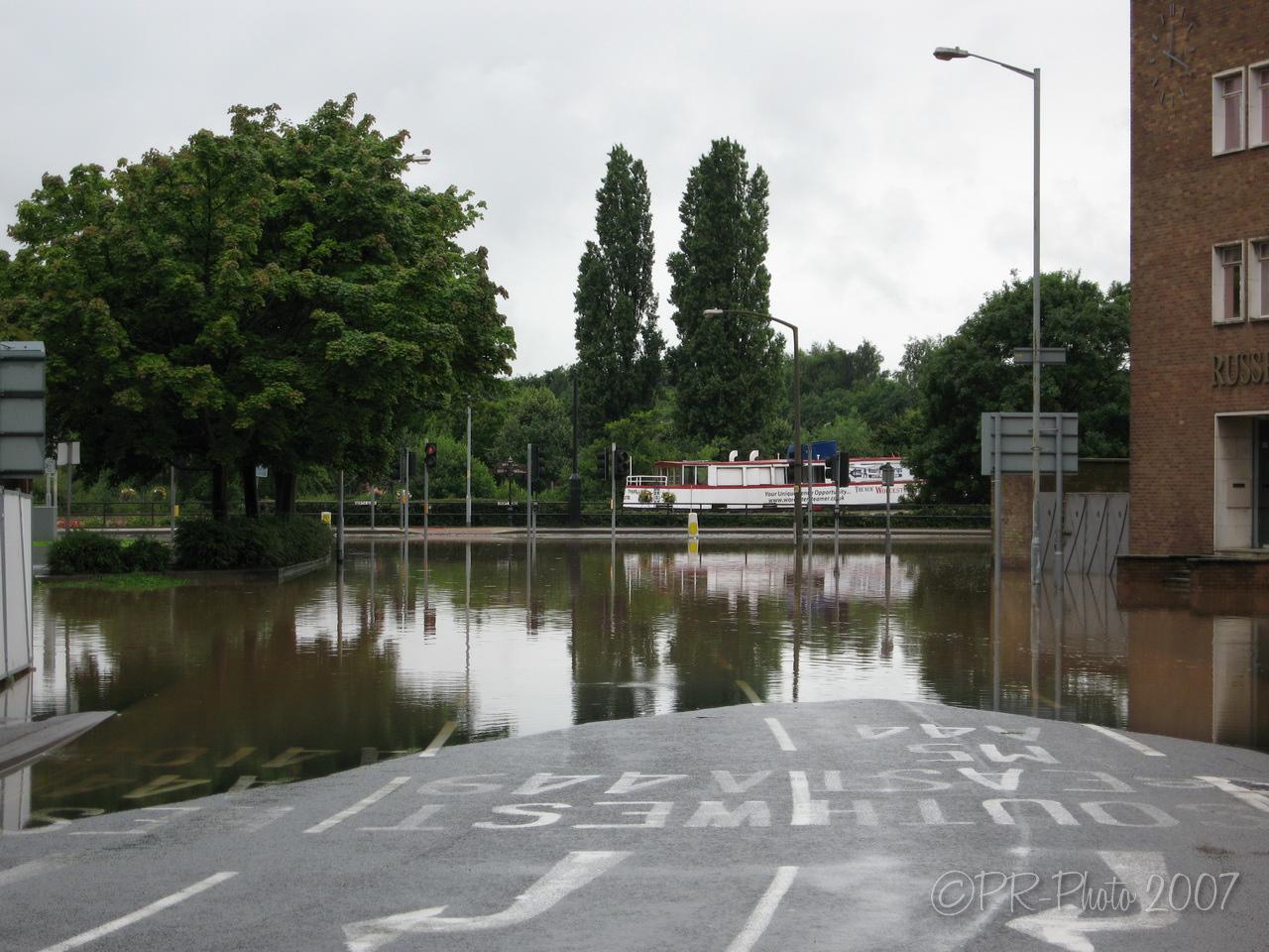 Worcester Summer floods 21st July 2007