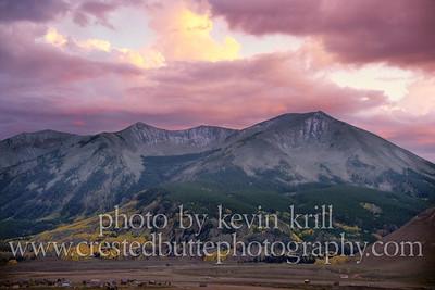 Fall colors on Whetstone Mountain