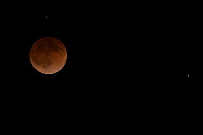 Blood moon, Pleasant Hill, CA