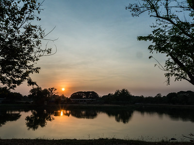 Ayuttaya Sunset