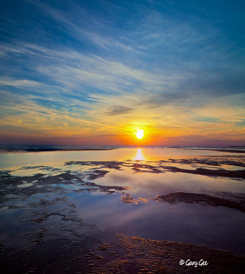 Sturgeon Bay Wilderness State Park Sunset