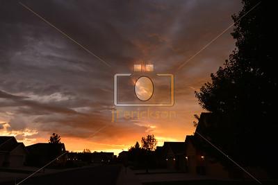 Sunset 9-12-2013 3