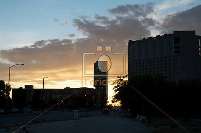 Boise City Scape Sunset 5-30-2013 11