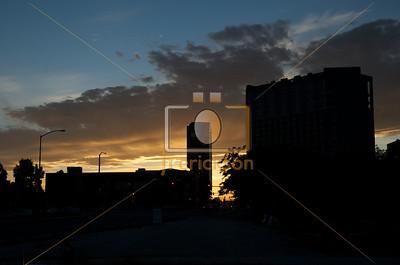 Boise City Scape Sunset 5-30-2013 5