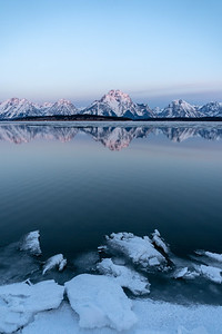 The Thaw (Jackson Lake)