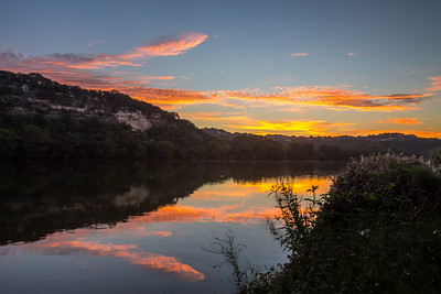Sunrise Below The Pennybacker