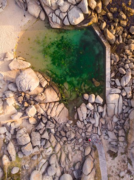 Maidens Cove tidal pool, 2020