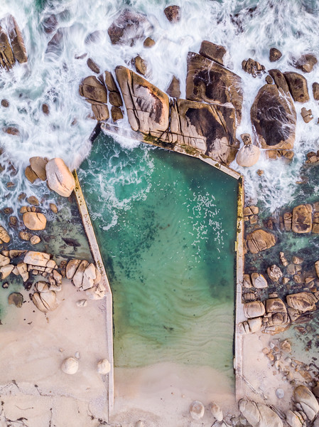 Maidens Cove tidal pool, Cape Town 2020