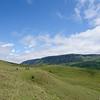 hiking, hikers, grassland, Wanderer, Kamberg Nature Reserve, Drakensberge, Drakensberg Mountains, Südafrika, South Africa