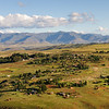 village, mountains, Malealea, Lesotho