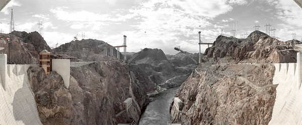 AMERICA WEST - CALIFORNIA - THE HOOVER DAM
