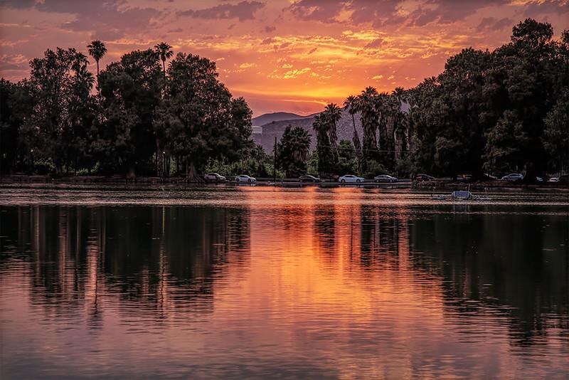 Fairmount Park Sunset