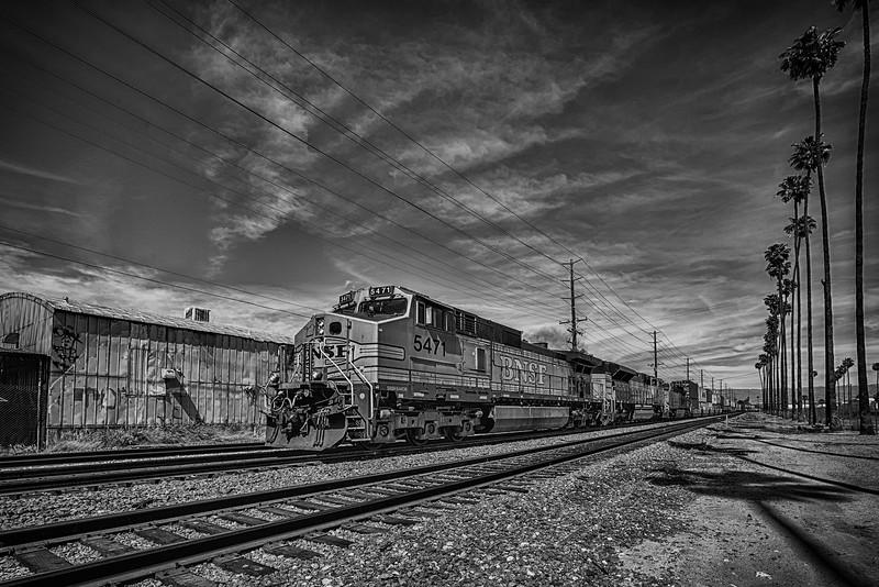 Urban Scene B&W (Train)