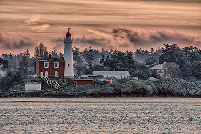 winter morning @ fisgard lighthouse
