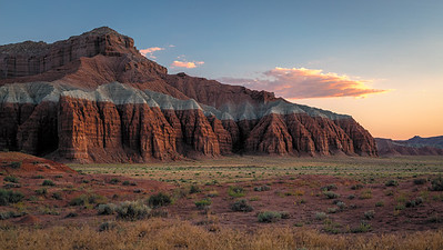 Utah sunset - San Rafael Swell area...