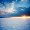 Salt Flat Sunburst