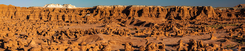 "Thousands of ""hoodoos"" in Goblin Valley State Park, Utah."