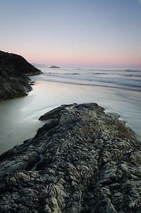 Incinerator Rock Sunset