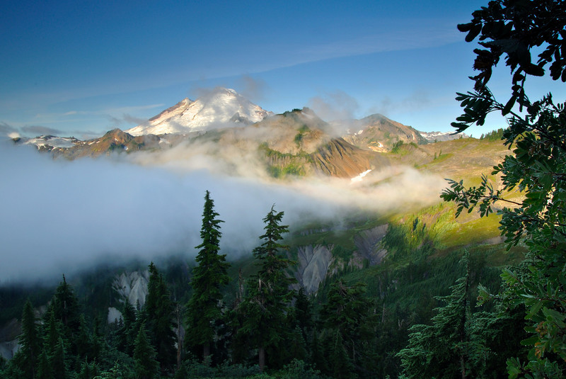 Out of the clouds<br /> Artist Point, Mt Baker, WA