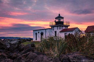 Point No Point lighthouse - Hansville, Washington