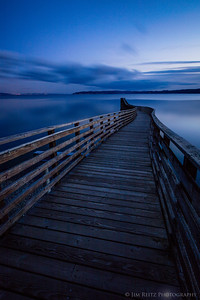 Long pier, long exposure...
