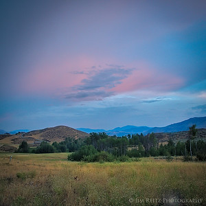 Sunset - near Winthrop, Washington