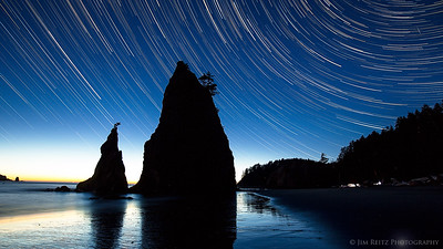 Sea Stacks & Star Trails