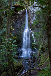 Marymere Falls in Olympic National Park, near Lake Crescent.