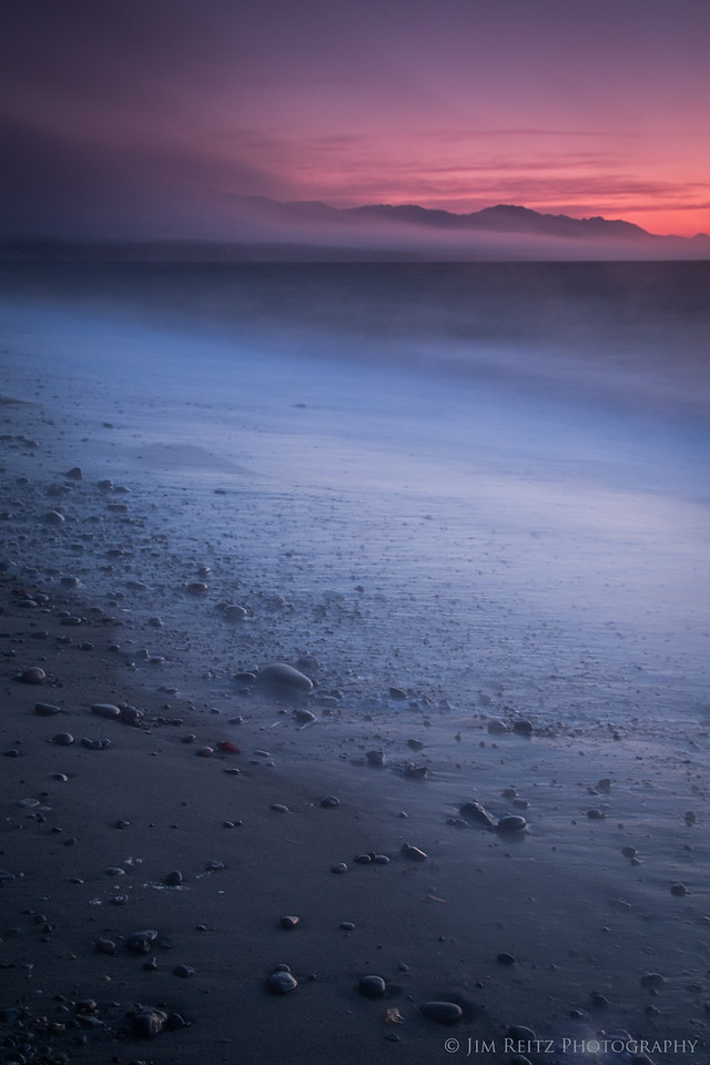 Long-exposure, Dungeness Spit