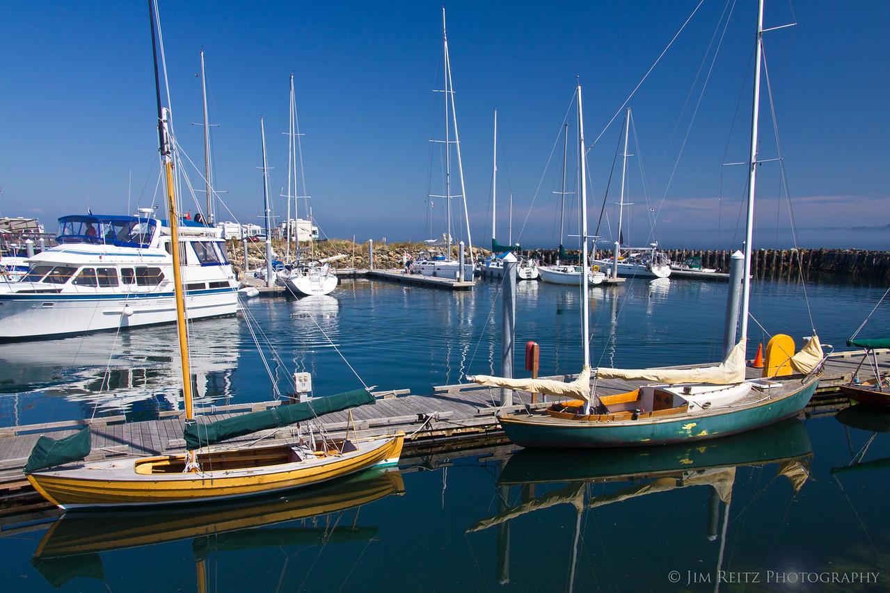 Port Townsend, WA marina.
