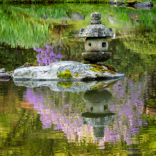 Reflections at the Seattle Japanese Garden