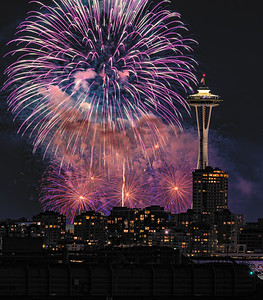 Seattle 4th of July fireworks 2019