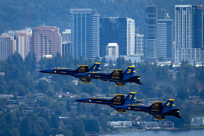 Blue Angels airshow - SeaFair 2018